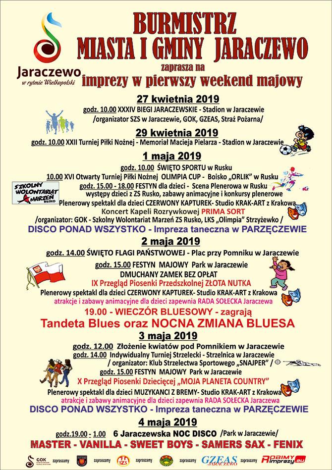 Weekend majowy w Jaraczewie